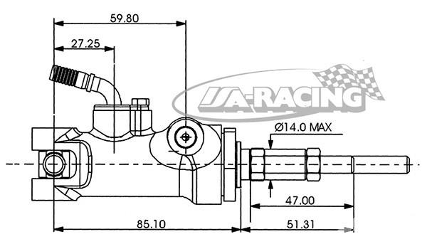 BRZDOVÝ VÁLEČEK AP RACING - 23,70mm