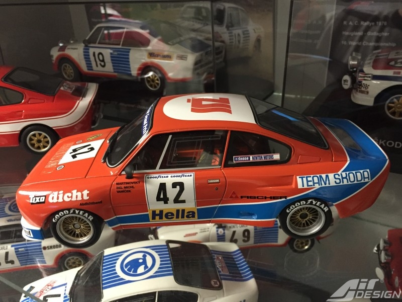 ŠKODA 130 RS n. 42 ME DONINGTON 1981 Limited Edition