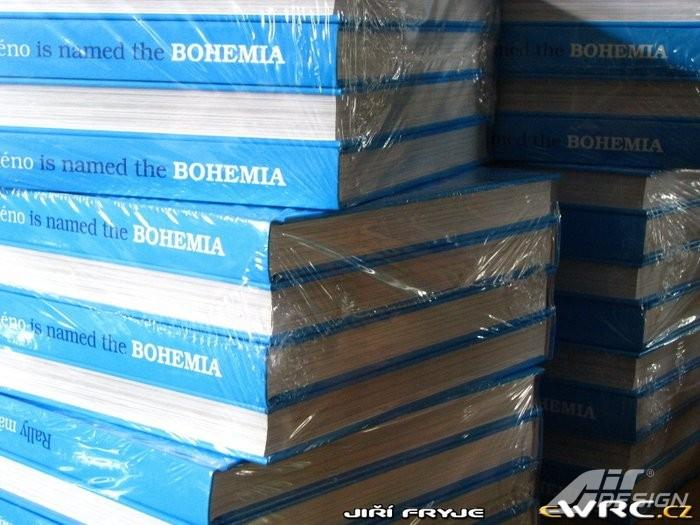 Kniha Rally má jméno Bohemia