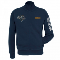 MIKINA SPARCO HOODIE 40th SE ZIPEM